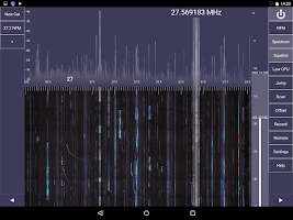 Screenshot of SDR Touch - Live radio via USB