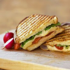 Portobello-Chicken Panini