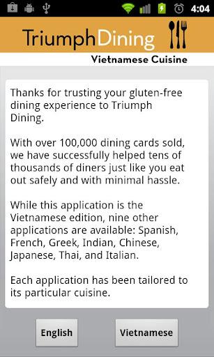 Gluten Free Vietnamese