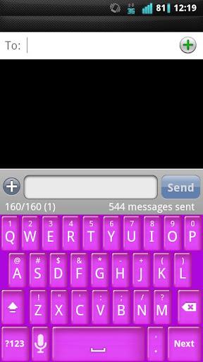 個人化必備APP下載 Girly Jelly Keyboard Skin 好玩app不花錢 綠色工廠好玩App