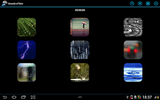 Screenshot of Sounds Of Rain Relax your Mind