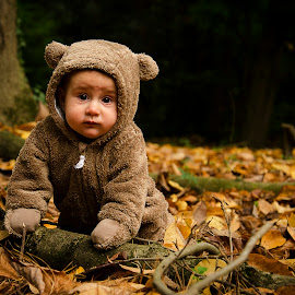 Sofia by Aris Canis von Furcsoara - Babies & Children Babies ( baby portrait, babies, babygirl, baby into the forest, baby girl, baby, baby photography, baby shoot, baby bear,  )