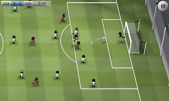Screenshot of Stickman Soccer