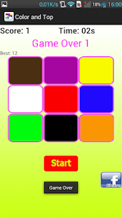 Color and Top - funny game - screenshot