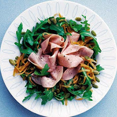Rapid Rocket, Carrot & Ham Salad
