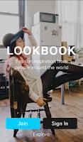 Screenshot of Lookbook