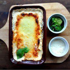 White Cheese Lasagna