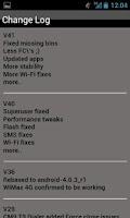 Screenshot of AOSP oICS NS4G ROM Toolbox