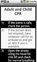 Screenshot of CPR