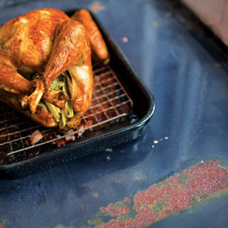 Sage-Brined Roast Turkey with Oyster Dressing