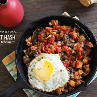 Turkey & Chorizo Breakfast Hash for #SundaySupper