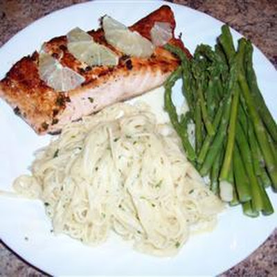 Lemon and Pepper Pan-Seared Salmon