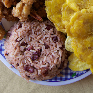 Resanbinsi (Rice and Beans with Coconut Milk)