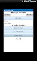 Screenshot of Drive Safe Text Safe