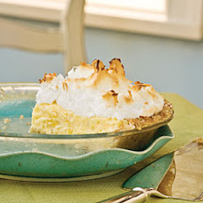 Pineapple Meringue Pie
