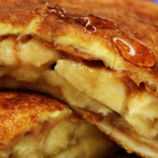 Banana-Stuffed French Toast