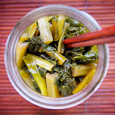 Vietnamese Pickled Mustard Greens (Cải Chua)
