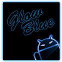 GOKeyboard Theme Glow Blue icon
