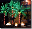 LED Lighted Palm Tree