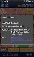 Screenshot of Zeytinburnu Belediyesi