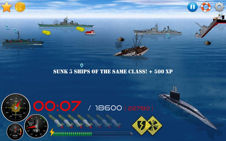 Silent Submarine 2HD Simulator Screenshot 1