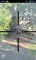 Screenshot of Sniper Scope Simulation