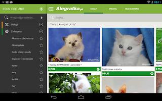Screenshot of Alegratka - ogłoszenia drobne