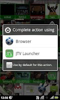 Screenshot of JTV Launcher Widget