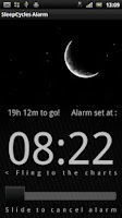 Screenshot of Sleep Cycles Alarm Free