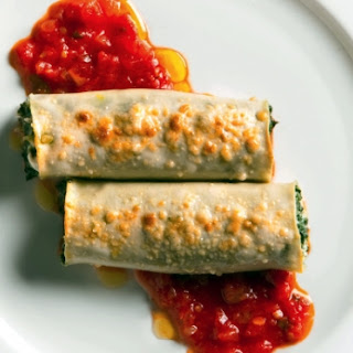 Cannelloni With Swiss Chard And Fresh Goat Cheese
