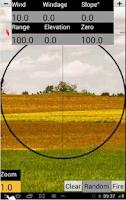 Screenshot of GunSim Ballistics - Free