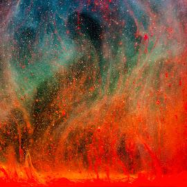 by Nancie Rowan - Digital Art Abstract