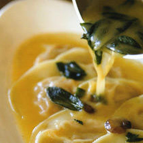 Butternut Squash Ravioli with Sage–Brown Butter Sauce