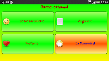 Screenshot of Barzellette: Barzellettiamo!