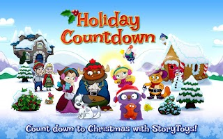 Screenshot of Holiday Countdown