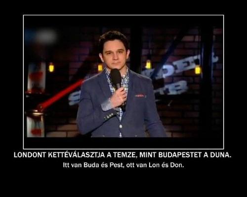 Felméri Péter - Budapest és London - egy vicces kép