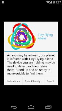 Tiny Flying Aliens Free apk screenshot