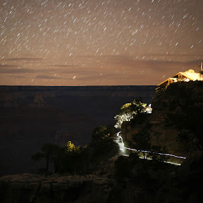 The Kolb Studio Early Morning by VAM Photography - Landscapes Starscapes ( night photography, places, grand canyon )