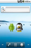 Screenshot of PenguinWidget