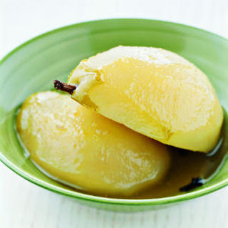 Poached Ginger Pears