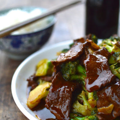 Beef with Broccoli and An All Purpose Stir-fry Sauce