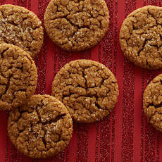Jamie's Old-Fashioned Ginger Crinkle Cookies
