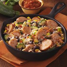 Southwest Chicken Smoked Sausage Skillet