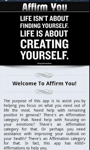 Affirm You