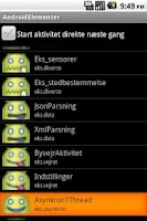 Screenshot of AndroidElementer
