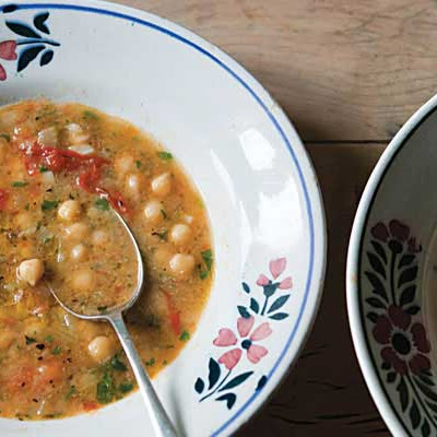 Smoked Paprika and Chickpea Soup