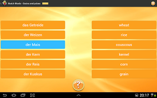 Screenshot of Learn German 6,000 Words