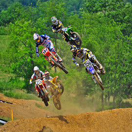 Big Air by Jeff Via Sr. - Sports & Fitness Motorsports ( motorcycles, motocross, motorbike, motorcycle, motorsport )