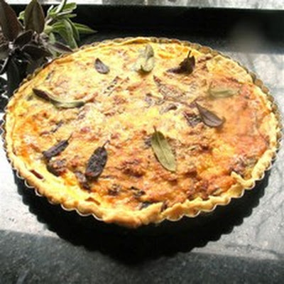 Three Onion Tart
