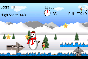 Screenshot of Super Runner Boy( Lite )